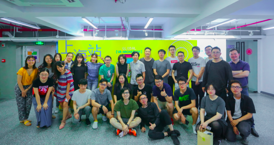 Photo: 2018 Global VR Hackathon Shanghai Station - Collection